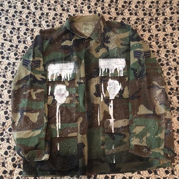 fee9ac1cb24c6 Jackets & Coats   Custom Camouflage Jacket   Poshmark